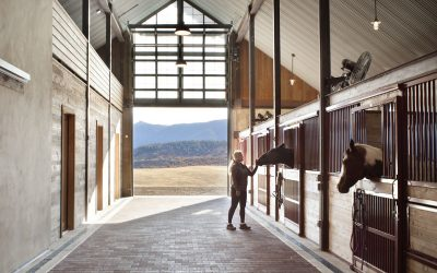 A Barn Fit for Kentucky Derby Royalty
